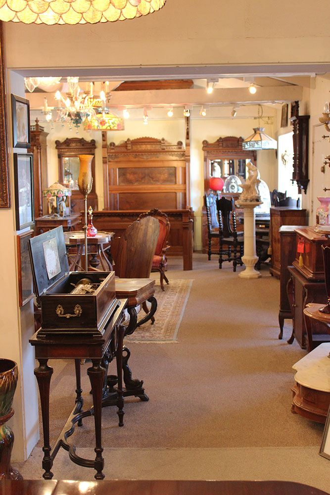 Beyond Expression Antiques In Mesa Specializes In American Victorian Furnitur